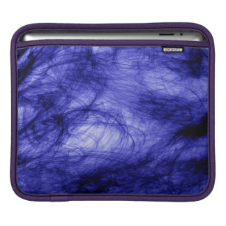 Abstraction Art Blue Haze iPad Sleeve