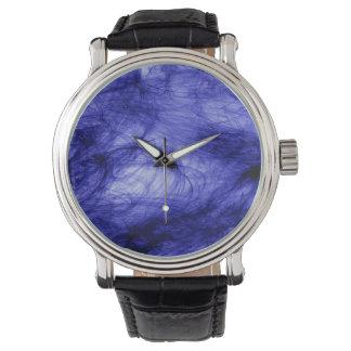 Abstraction Art Blue Haze Watch