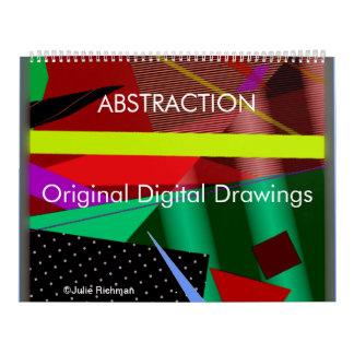 ABSTRACTION Art calendar