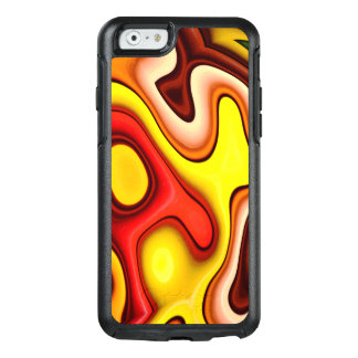 Abstraction Art  Contour Pattern OtterBox iPhone 6/6s Case
