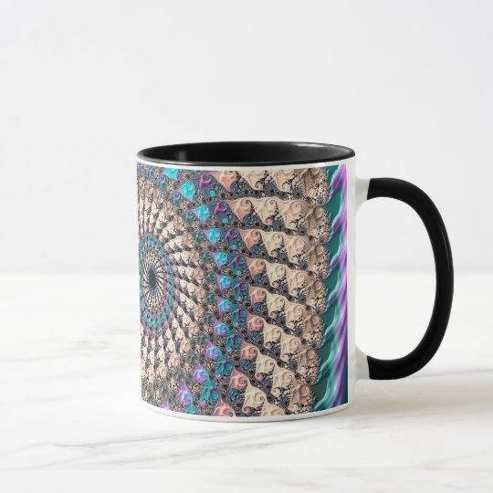 Abstraction Art Lilac And Purple Wheen Mug