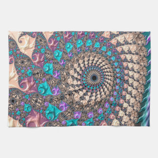 Abstraction Art Lilac And Purple Wheen- Towel