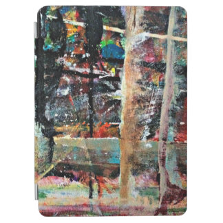 Abstraction Art Multi Colored Background iPad Air Cover