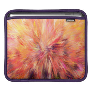 Abstraction Art Pink Color iPad Sleeve