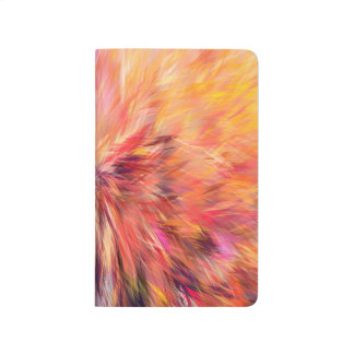 Abstraction Art Pink Color Journal