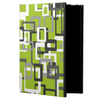 Abstraction Art Squares Pattern Green Background Powis iPad Air 2 Case