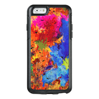 Abstraction Art  Wavy And Colorful Pattern OtterBox iPhone 6/6s Case