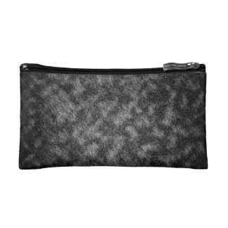 Abstraction Black And White Texture Makeup Bag
