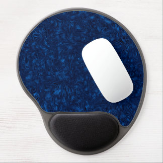 Abstraction Blue Background Texture Gel Mouse Mat