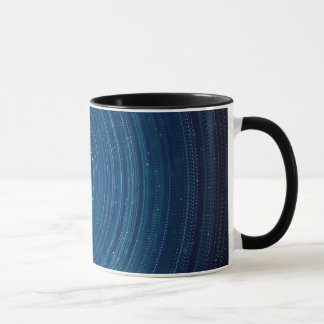 Abstraction Blue Whirls Background Mug