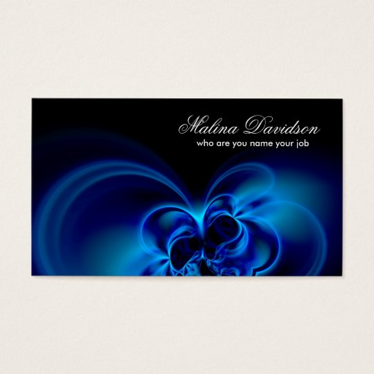abstraction business card