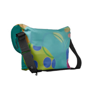 Abstraction Courier Bag