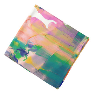 Abstraction Cow Watercolor Silhouette Do-rags