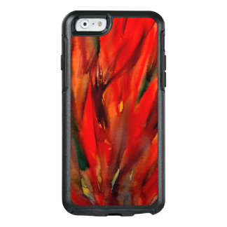 Abstraction Red Flame Art OtterBox iPhone 6/6s Case