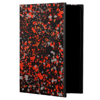 Abstraction Seamless Dot Dabs Red Black And Gray Powis iPad Air 2 Case