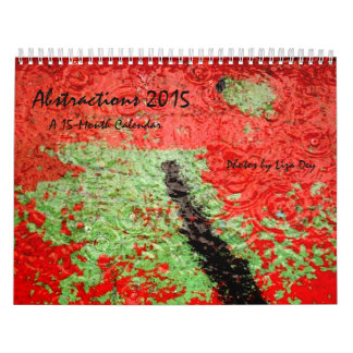 'Abstractions' 2015 15-Month Calendar