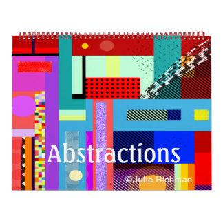 ABSTRACTIONS CALENDAR