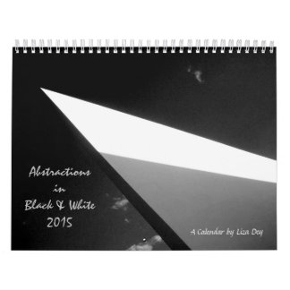 'Abstractions in Black & White' 2015 Calendar