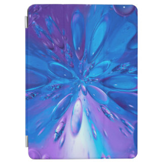 Abstractly Art Blue Water Drops Background iPad Air Cover