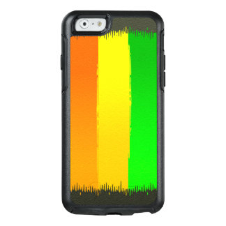 Abstractly Art Colorful Rainbow Background OtterBox iPhone 6/6s Case