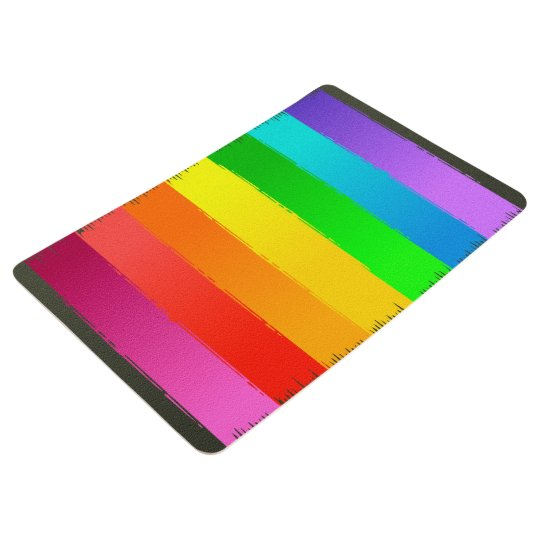 Abstractly Art Colourful Rainbow Background Floor Mat