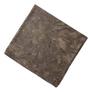 Abstractly Art Dark Grey Background Bandana