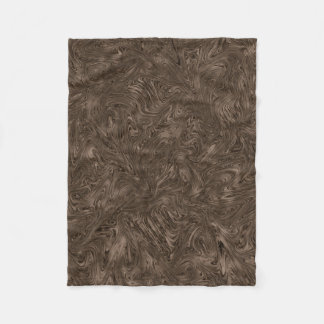 Abstractly Art Dark Grey Background Fleece Blanket