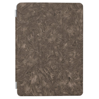 Abstractly Art Dark Grey Background iPad Air Cover