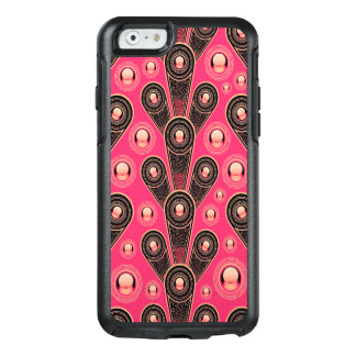 Abstractly Art Grey And Pink Glitter Background OtterBox iPhone 6/6s Case