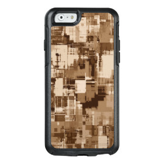 Abstractly Art  Grey Pattern OtterBox iPhone 6/6s Case