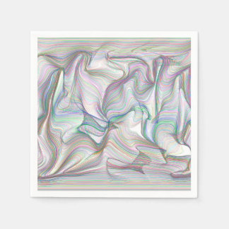 Abstractly Art Multi Disposable Napkins