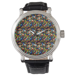 Abstractly Art Stars Wristwatch