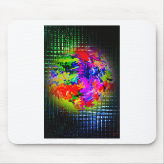 Abstractly in perfection 11 mouse pad