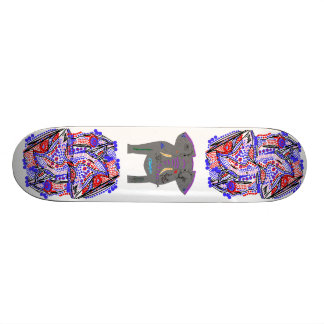 Abstracts and Tattooed elephant. Skate Decks