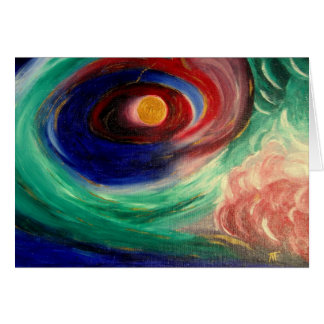 Abstrract Art Painting - Greeting Card
