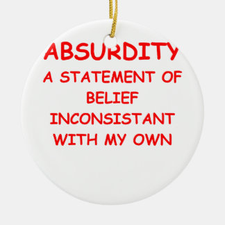 absurd christmas ornament