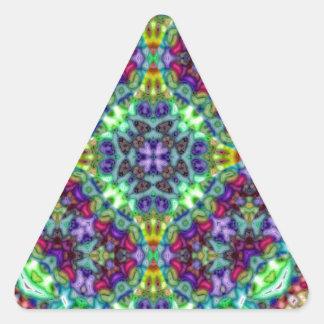 Absurd III.jpg Triangle Sticker