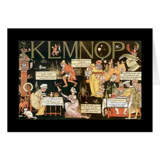 Absurd KLMNOP Card