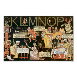 Absurd KLMNOP Poster