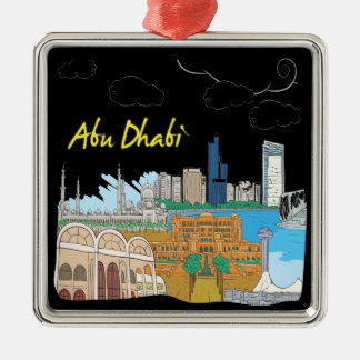 Abu Dhabi Christmas Ornament