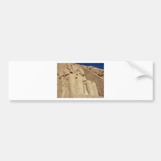 Abu Simbel Temple Egypt Bumper Sticker