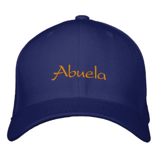 Abuela Embroidered Hat
