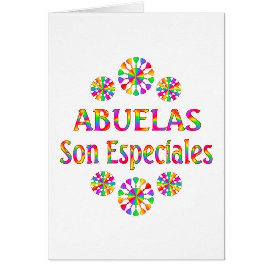 Abuelas Son Especiales Card