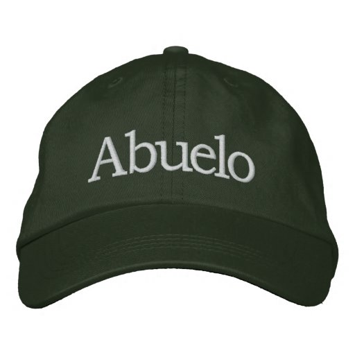 Abuelo Embroidered Hat Embroidered Baseball Caps