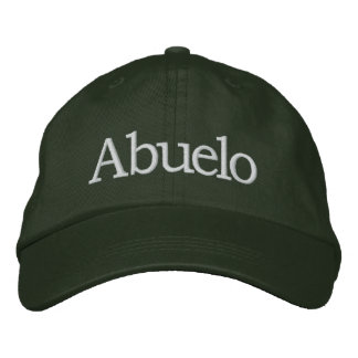 Abuelo Embroidered Hat