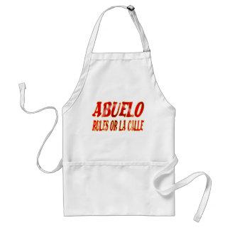 abuelo rules apron