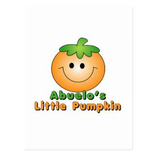 Abuelo s little pumpkin Abuelo Postcard