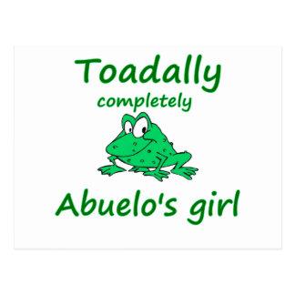 abuelo's girl post cards