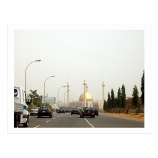 Abuja Central Mosque Postcard