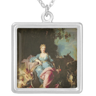 Abundance, 1719 silver plated necklace